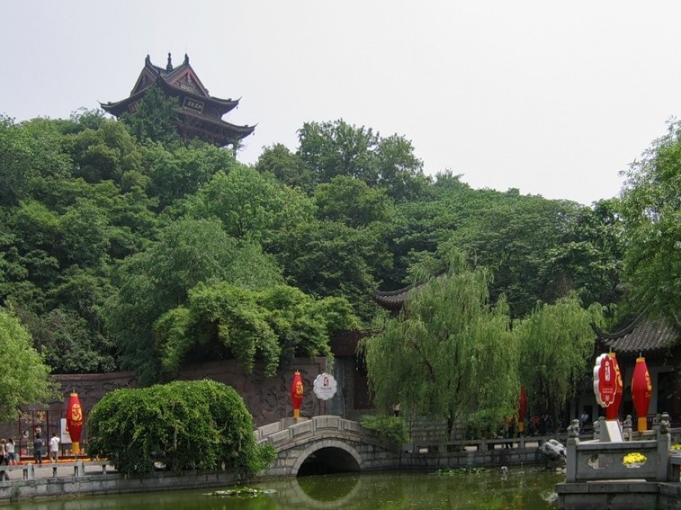 Парк на горе Шэшань