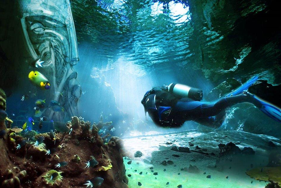 Подводный город Ши Чен