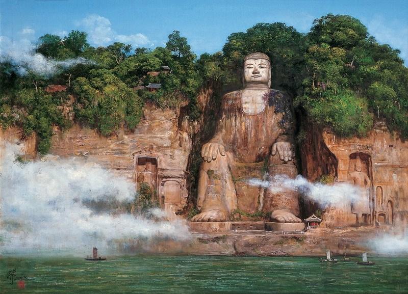 Статуя Будды (г. Лэшане)