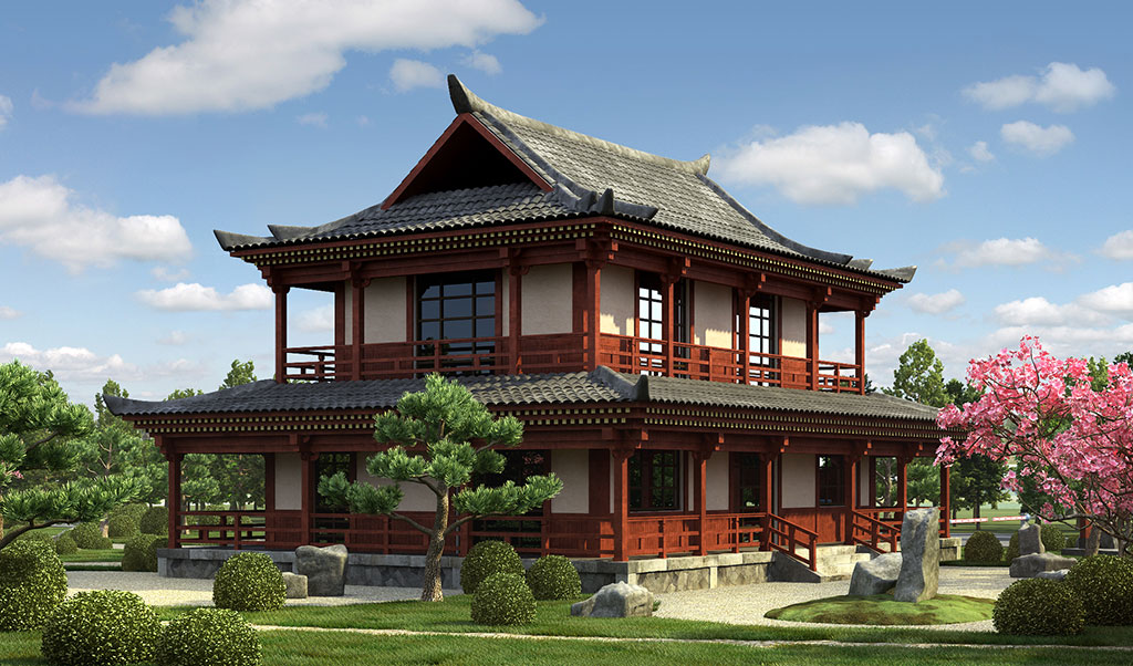 Традиционные китайские дома