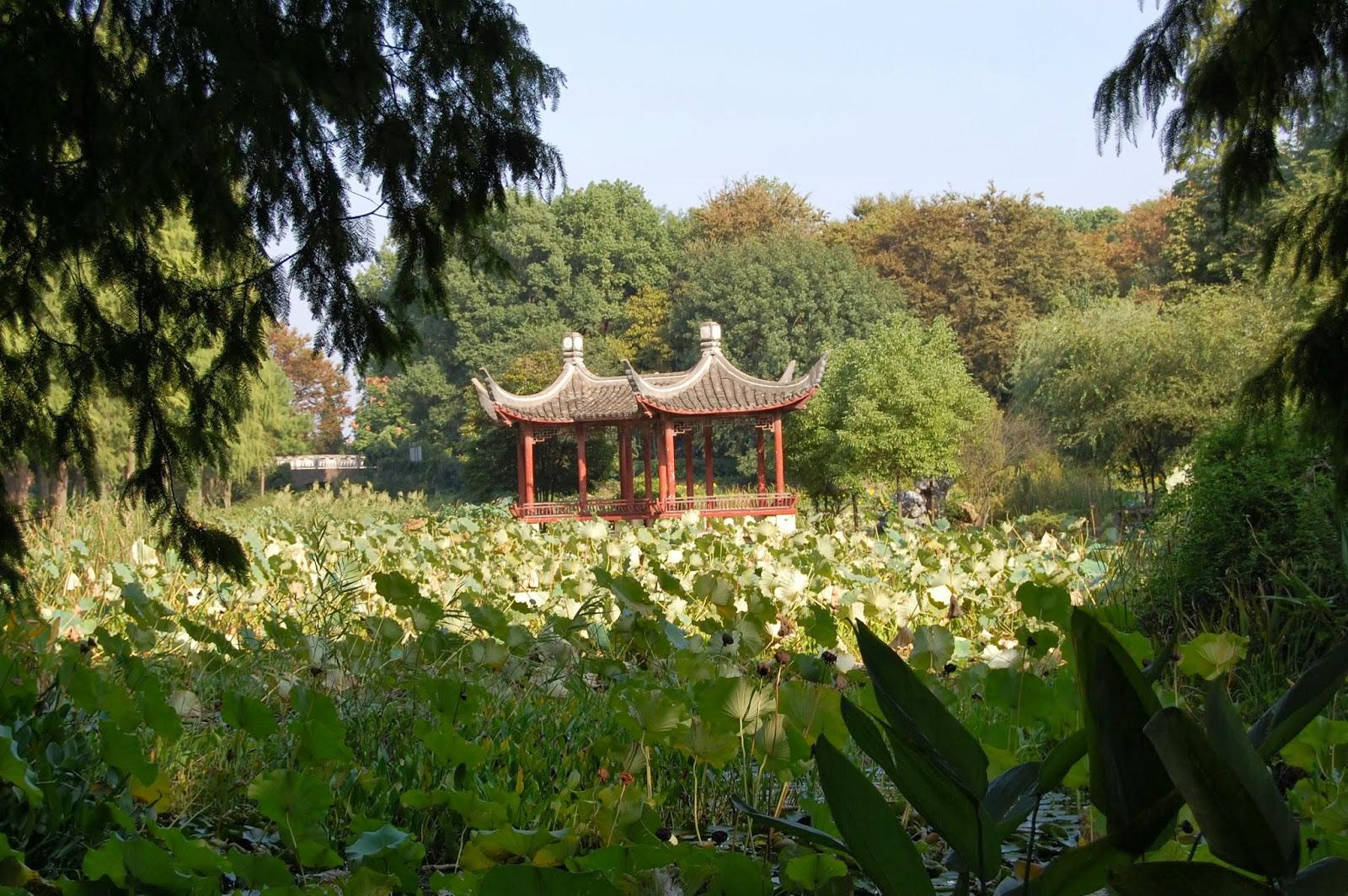 Ботанический сад Уханя