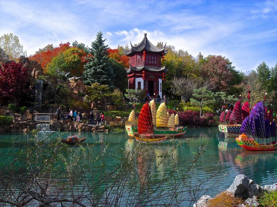 """""""Вань Ши"""" – ботанический сад"""