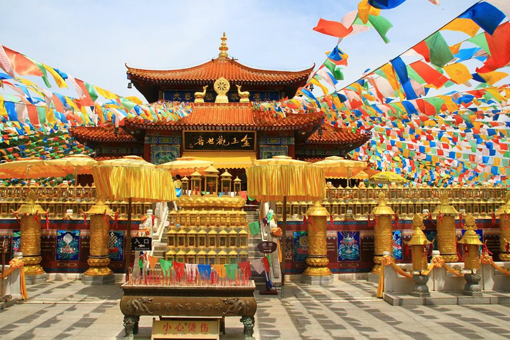 буддистский храм Няьшань
