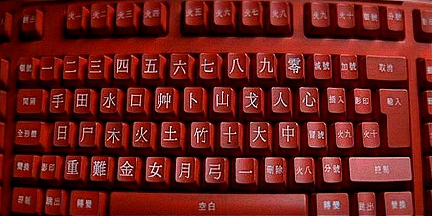 китайская клавиатура