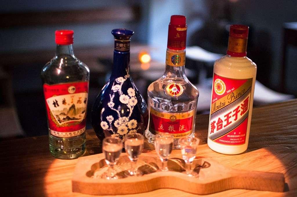 китайские алкогольные напитки