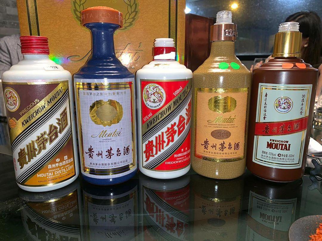 Рисовая водка Маотай