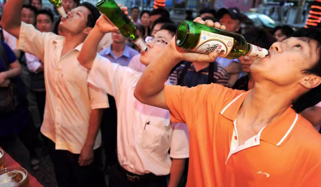 пьют китайцы