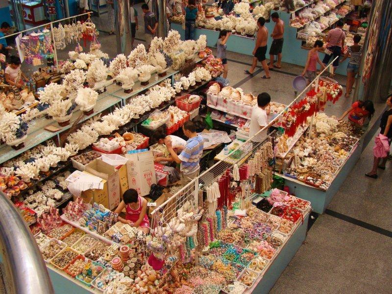 рынок сувениров «Шитанлу»