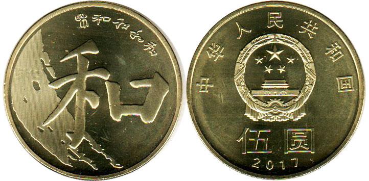 современные монеты Китая