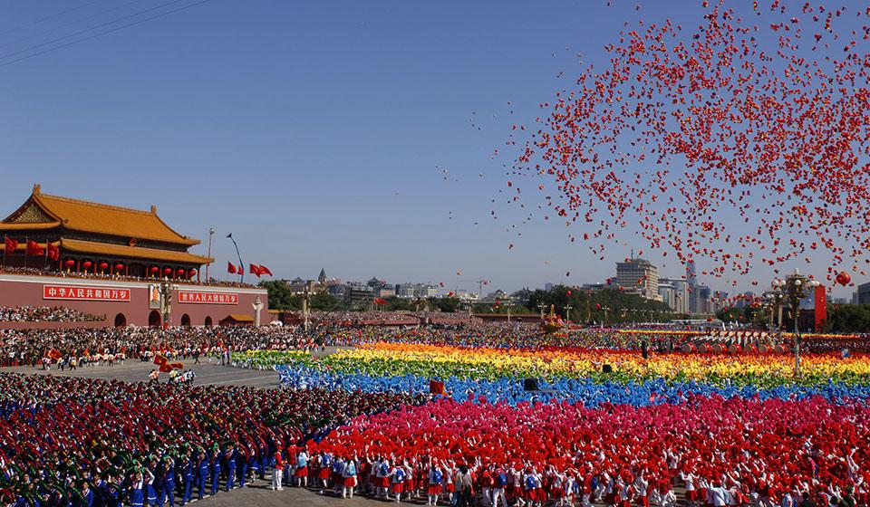 «золотая неделя» в Китае