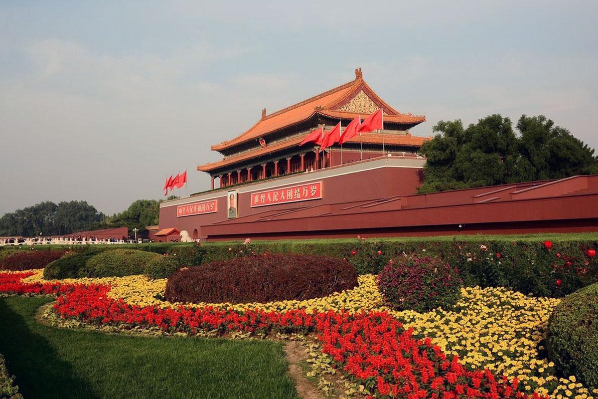 площадь Пекина – Тяньаньмэнь
