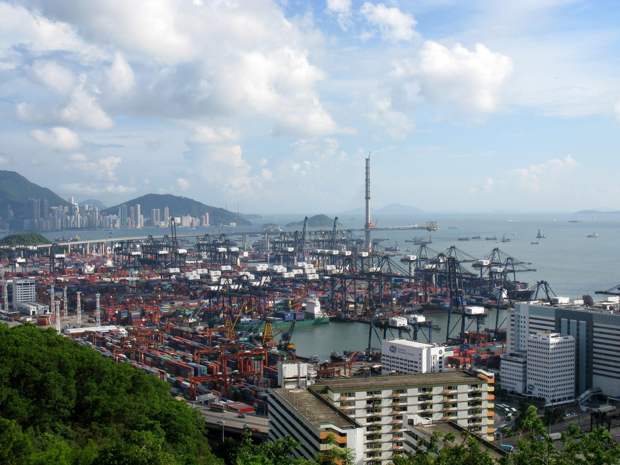 Гонконг порт