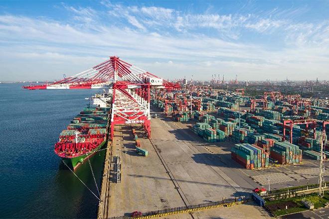 Гуанчжоу порт