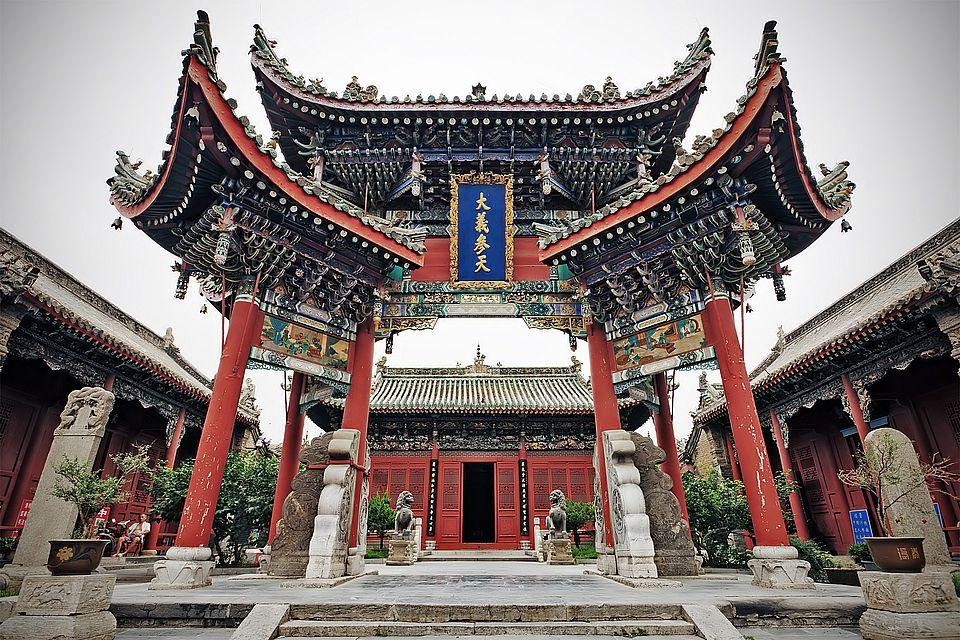 Храм Шуанлинь в Шаньси