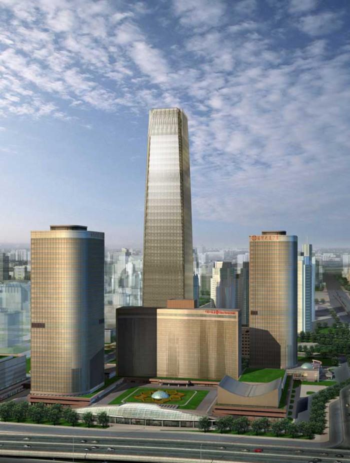 Пекинская башня всемирного торгового центра