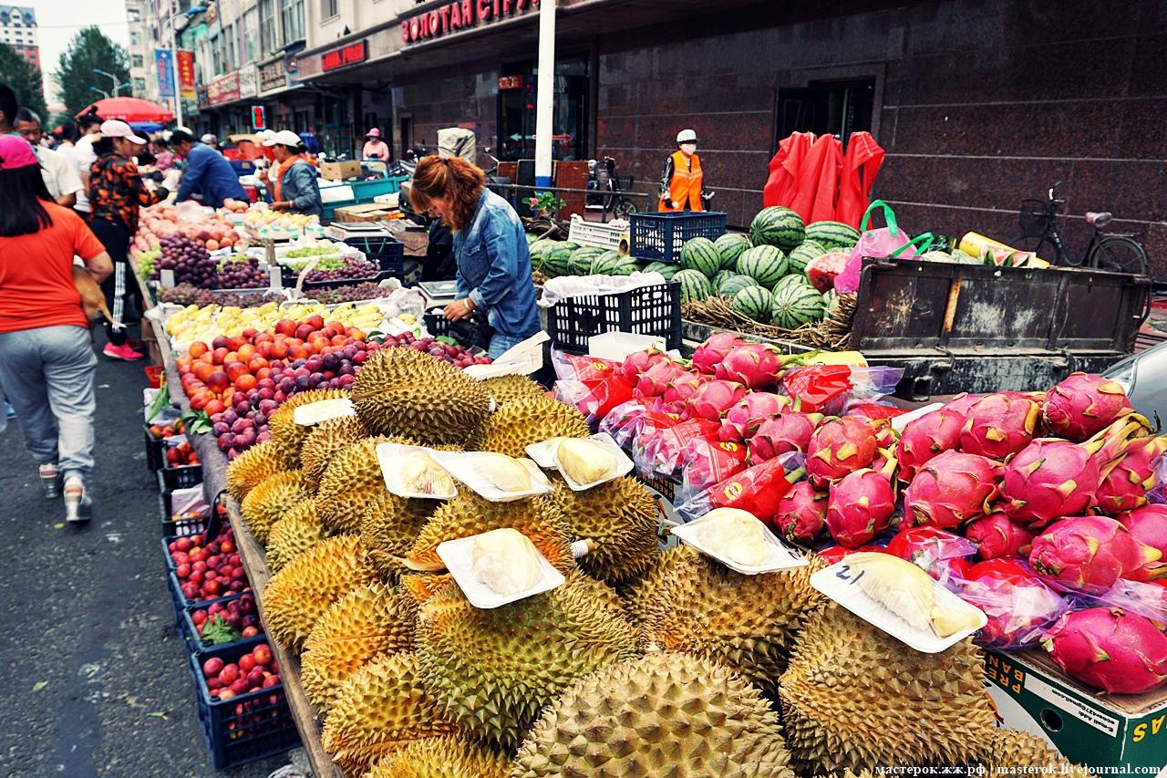 Рынок Ябаолу в Китае