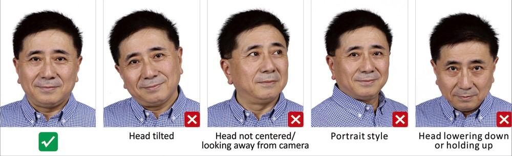 Требования к фото по сроку давности Снимок, предоставляемый в Посольство КНР, не должно быть старше 6 месяцев. Рекомендуется делать фотографию перед самой подачей документов на оформление китайской визы. Расположение на фото – требования по позиционированию Лицо человека на фотографии должно занимать от 70% до 80% пространства снимка, располагаться по середине фото, глаза смотрят вперед, голова – в положении «прямо». Не допускается наклон в ту или другую сторону.