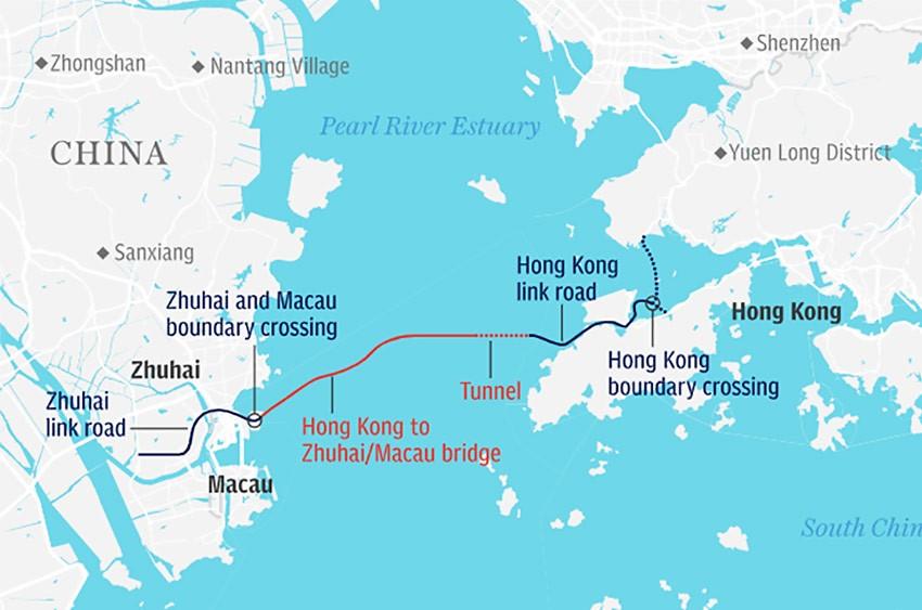 Как доехать из Гонконга в Макао на автобусе