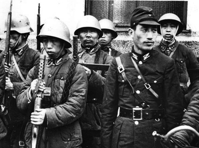 Китайская армия в годы Второй Мировой войны