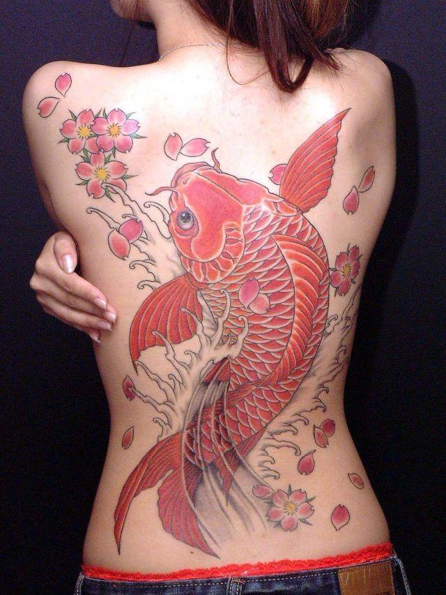 Китайские татуировки для женщин