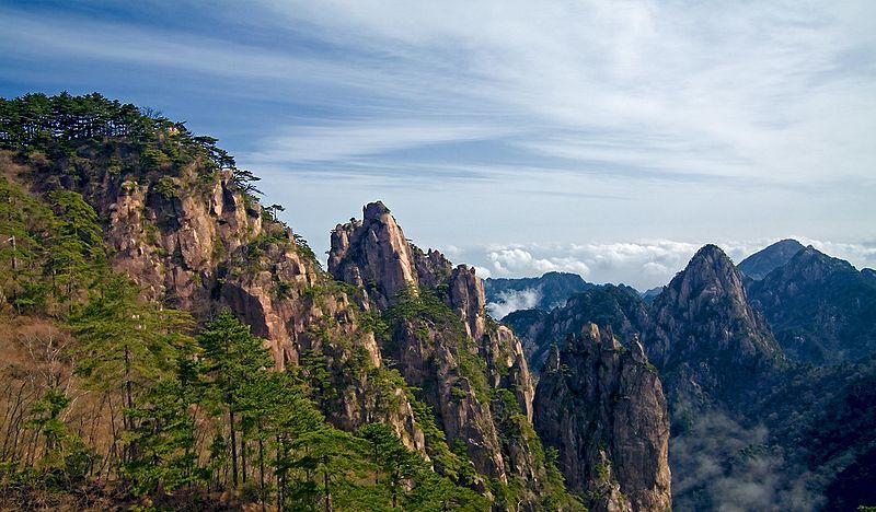 Национальный горный парк Хуаншань