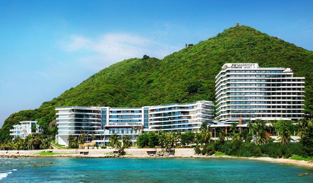 Отель Sanya Marriott hotel Dadonghai Bay 5
