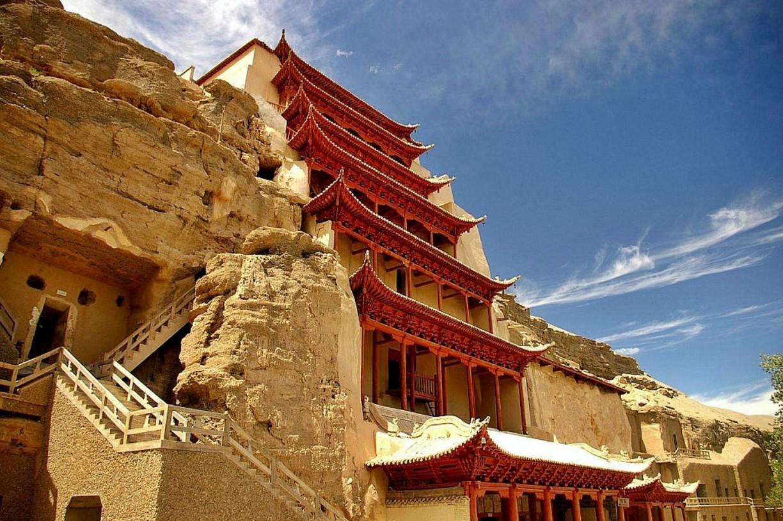 Пещерно-храмовый ансамбль Могао