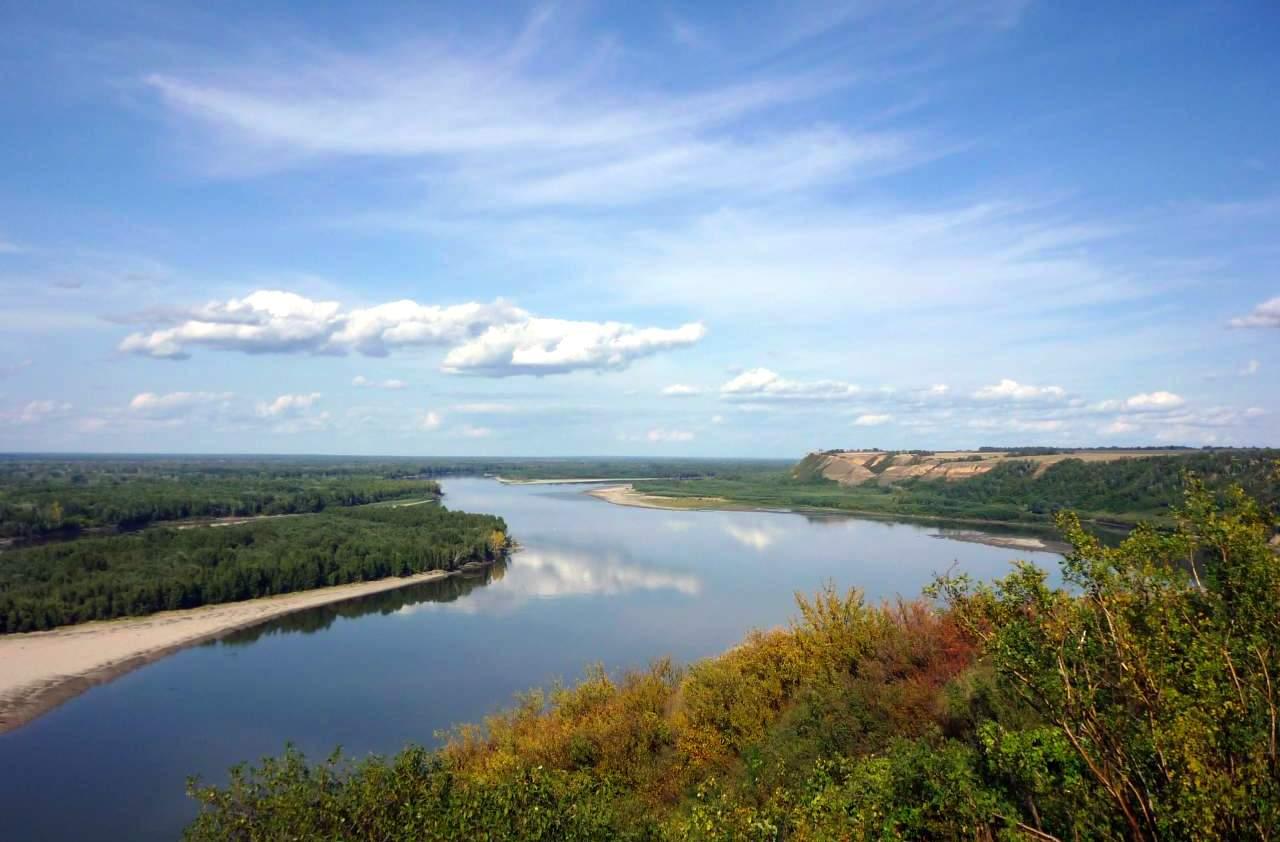Река Оби