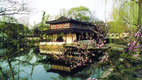 Сады в Сучжоу