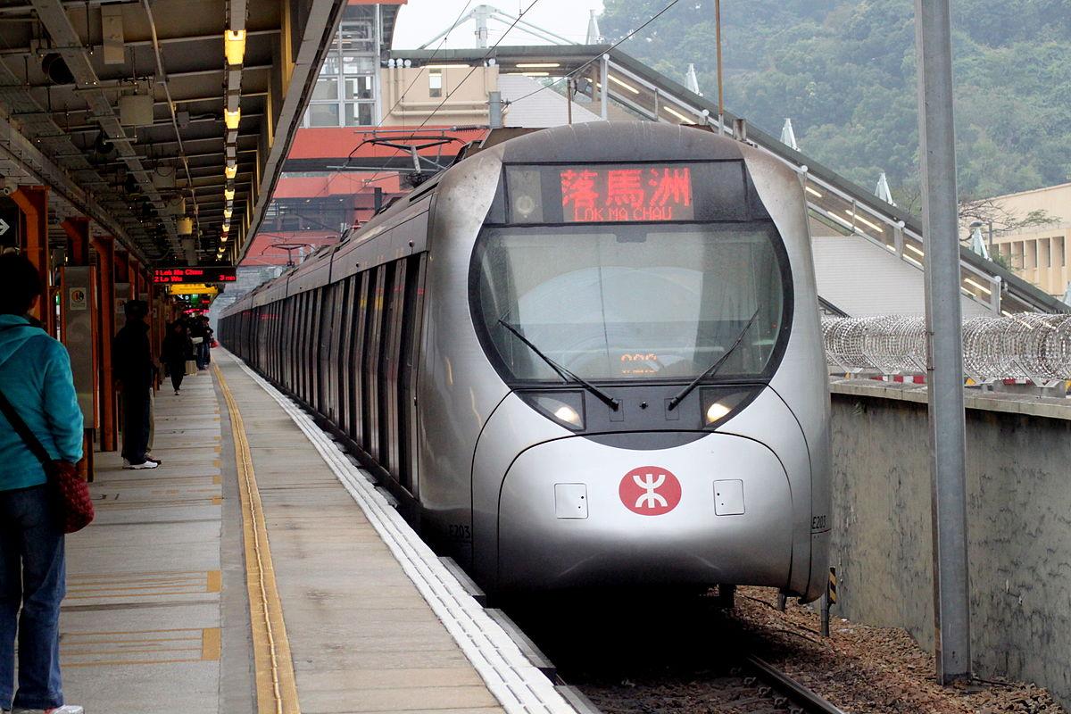 Сколько станций в метро Гонконга